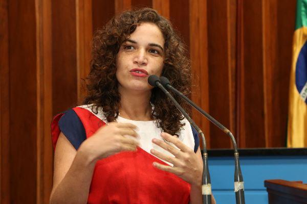 A presidente do Fórum Estadual de Cultura, Fernanda Teixeira (Foto - Victor Chileno e Toninho Souza/Divulgação)