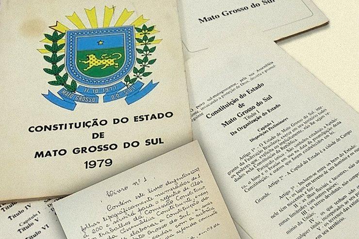 Imagem: Primeira Constituição de MS foi promulgada em 1979